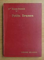 Anticariat: Hubert Bourgin - Petits drames (1935)