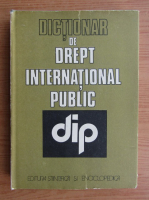 Anticariat: Ionel Closca - Dictionar de drept international public
