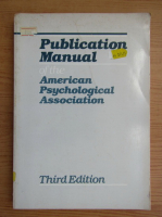 Anticariat: Publication manual of the American Psychological Association