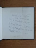 Stela Fodor - Ganduri pentru tine (cu autograful si dedicatia autoarei pentru Florin Piersic)