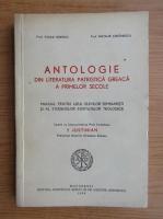 Vasile Ionescu, Nicolae Stefanescu - Antologie din literatura patristica greaca a primelor secole