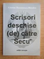 Anticariat: Cristian Dumitrescu-Blendea - Scrisori deschise de catre Secu