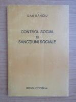 Anticariat: Dan Banciu - Control social si sanctiuni sociale