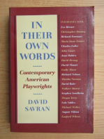 Anticariat: David Savran - In their own words