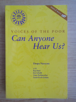 Anticariat: Deepa Narayan - Voices of the poor. Can anyone hear us?