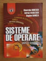 Gheorghe Dodescu, Adrian Vasilescu - Sisteme de operare Unix si Windows