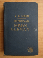 Maximilian W. Schroff - Dictionar roman-german (1925)