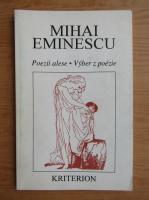 Anticariat: Mihai Eminescu - Poezii alese (editie bilingva)
