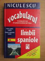 Pedro Alvarez Olaneta - Vocabularul tematic fundamental al limbii spaniole