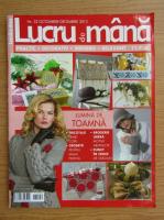 Revista Lucru de Mana, nr. 32, octombrie-decembrie, 2013