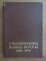 Anticariat: Universitatea Babes-Bolyai 1965-1970