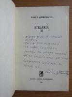 Anticariat: Vasile Andronache - Stelaria (cu autograful autorului)