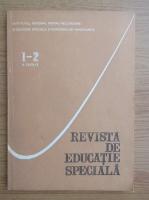 Anticariat: Revista de educatie speciala, nr. 1-2, 1994