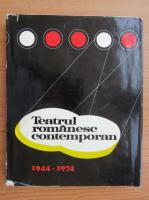 Simion Alterescu - Teatrul romanesc contemporan 1944-1974