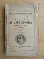 Titus Livius - Ab urbe condita (1926)