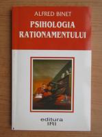 Alfred Binet - Psihologia rationamentului