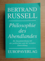 Bertrand Russell - Philosophie des Abendlandes