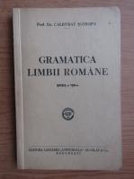 Anticariat: Calistrat Sotropa - Gramatica limbii romane (1944)
