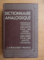 Charles Maquet - Dictionaire analogique