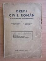 Al. Baicoianu - Drept civil roman. Studiu de doctrina si de jurisprudenta (volumul 2, 1943)