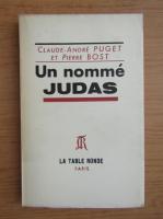 Anticariat: Claude Andre Puget - Un nomme Judas (1956)