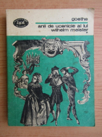 Anticariat: Johann Wolfgang Goethe - Anii de ucenicie ai lui Wihelm Meister (volumul 1)