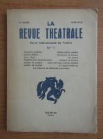 Anticariat: La revue theatrale, anul 5, nr. 11
