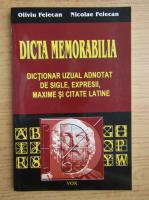 Anticariat: Oliviu Felecan - Dicta memorabilia