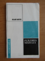 Roland Barthes - Placerea textului
