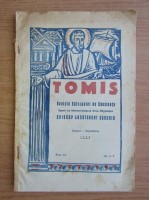 Tomis. Revista Episcopiei din Constanta, anul XX, august-septembrie, nr. 8-9, 1943