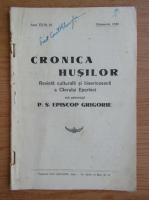 Cronica Husilor, anul VII, nr. 10, octombrie 1940
