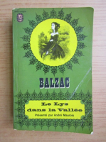 Anticariat: Honore de Balzac - Le Lys dans la Vallee