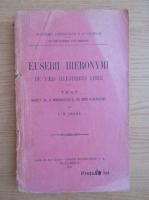 Anticariat: Ion Dianu - Eusebii hieronymi (1920)