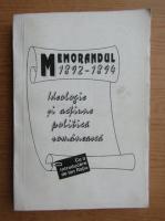 Anticariat: Memorandul (1892-1894)