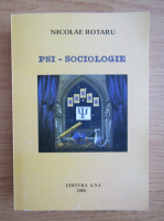 Anticariat: Nicolae Rotaru - Psi-sociologie