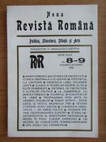 Anticariat: Noua revista romana, nr. 8-9, noiembrie-decembrie 1996