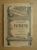 Paul Bourde - Patriotul (1930)