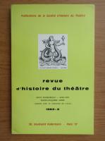 Anticariat: Revue d'histoire du theatre, nr. 2, 1983
