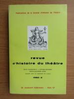 Anticariat: Revue d'histoire du theatre, nr. 4, 1982