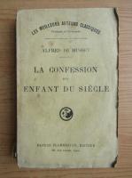 Anticariat: Alfred de Musset - La confession d'un enfant du siecle (1930)