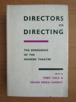 Anticariat: Directors on directing. The emergence of the modern theatre