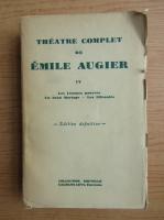 Anticariat: Emile Augier - Theatre complet (1879)