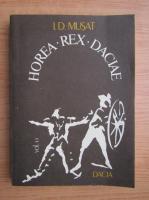 Anticariat: I. D. Musat - Horea rex Daciae (volumul 2)