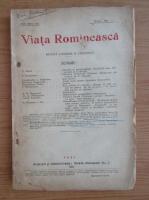 Revista Viata Romaneasca, anul XVI, nr. 4, aprilie 1924