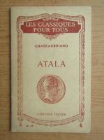 Anticariat: Alphonse de Chateaubriant - Atala (1931)
