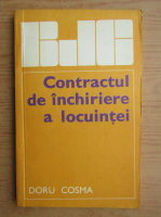 Anticariat: Doru Cosma - Contractul de inchiriere a locuintei