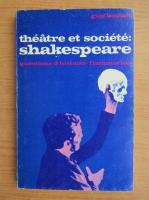 Anticariat: Guy Boquet - Theatre et societe Shakespeare