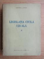 Anticariat: Legislatia civila uzuala (volumul 2)