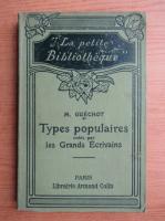 Anticariat: M. Guechot - Types populaires crees par les Grands Ecrivains (1907)