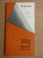 Anticariat: Nicolae Copoiu - Comuna din Paris si Romania
